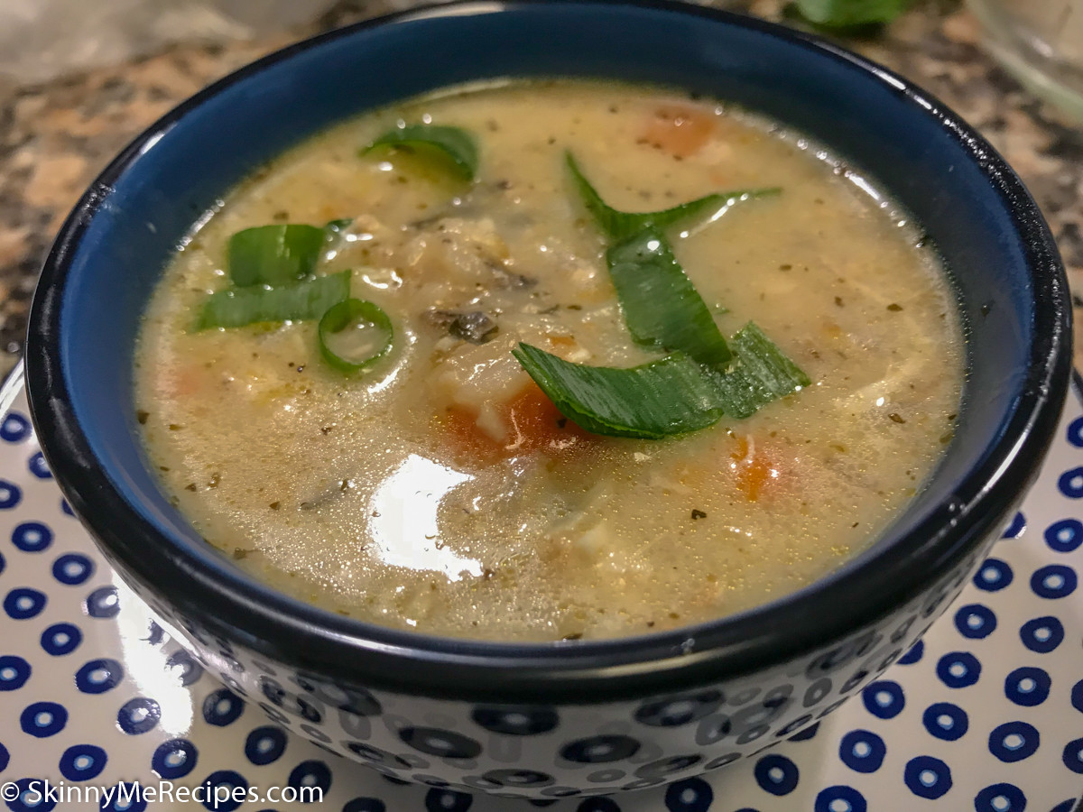 Chicken Rice Soup Instant Pot  Instant Pot Creamy Chicken and Wild Rice Soup ⋆ Skinny Me