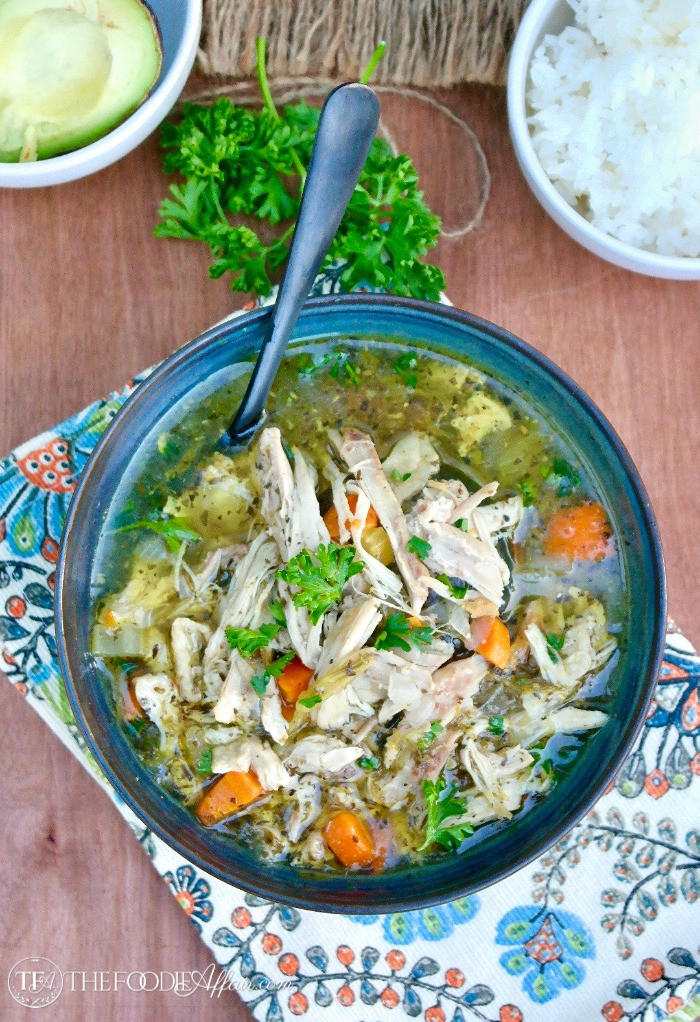 Chicken Rice Soup Instant Pot  Instant Pot Chicken Soup