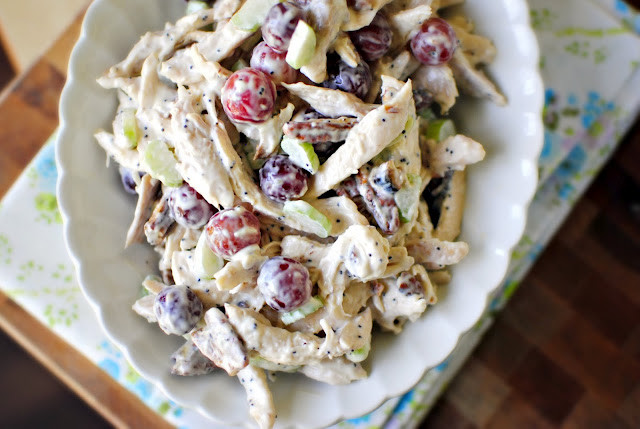Chicken Salad With Grapes Recipes  Simply Scratch Chicken Salad with Grapes Pecans Simply