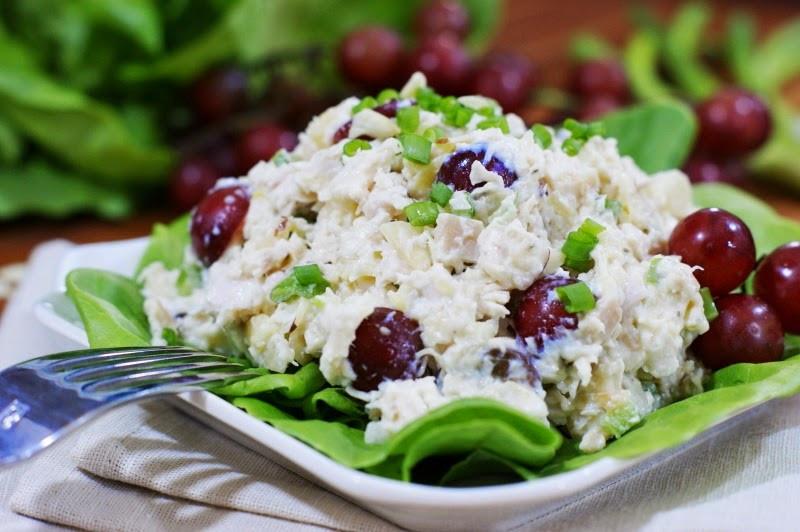 Chicken Salad With Grapes Recipes  Pina Colada Chicken Salad with Grapes