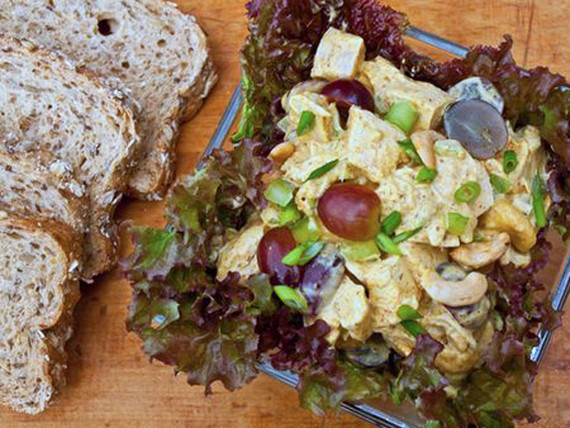 Chicken Salad With Grapes Recipes  10 Lettuce Free Salads You ll Make All Summer Long