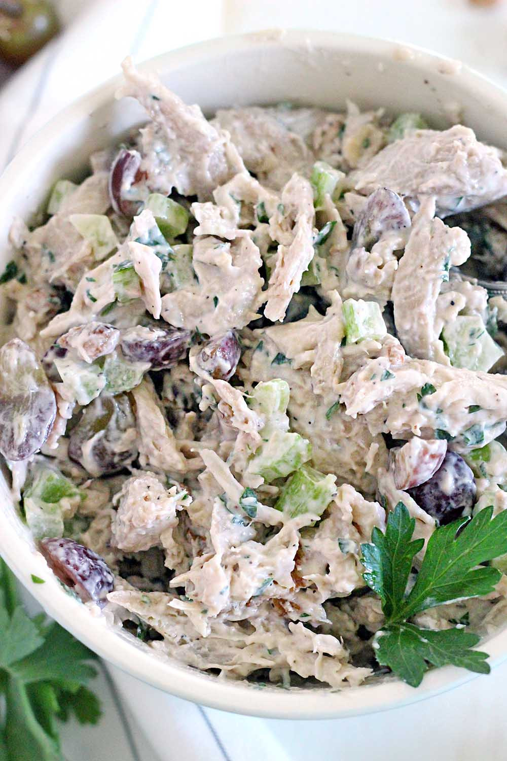 Chicken Salad With Grapes Recipes  Awesome Chicken Salad with grapes and walnuts