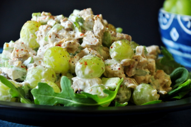 Chicken Salad With Grapes Recipes  Charlies Famous Chicken Salad With Grapes Recipe Food