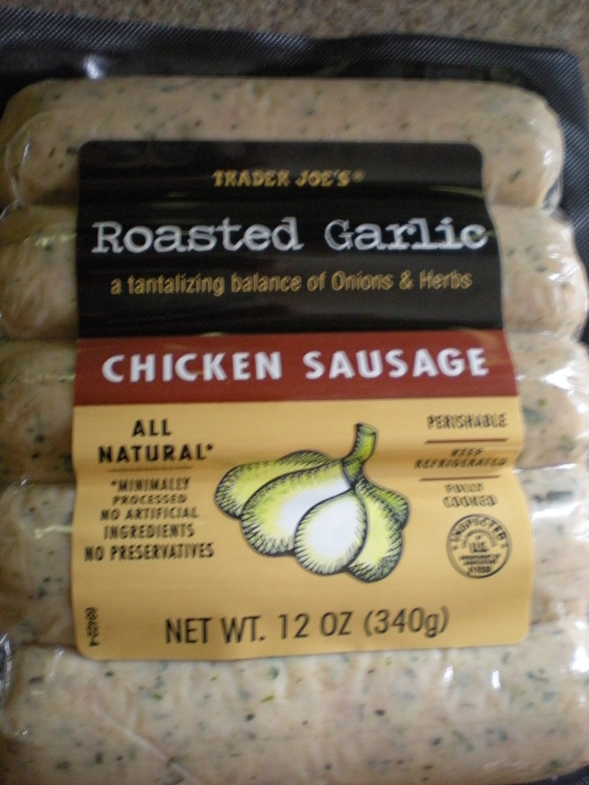 Chicken Sausage Calories  chicken sausage links nutrition