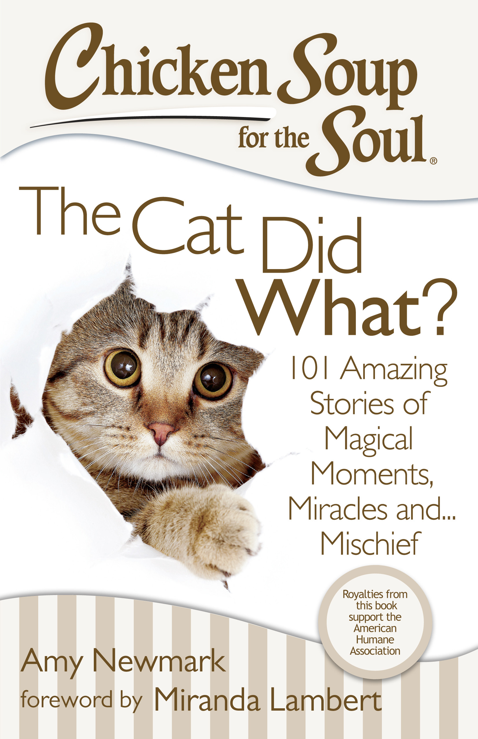 Chicken Soup For The Soul Stories  Chicken Soup for the Soul The Cat Did What