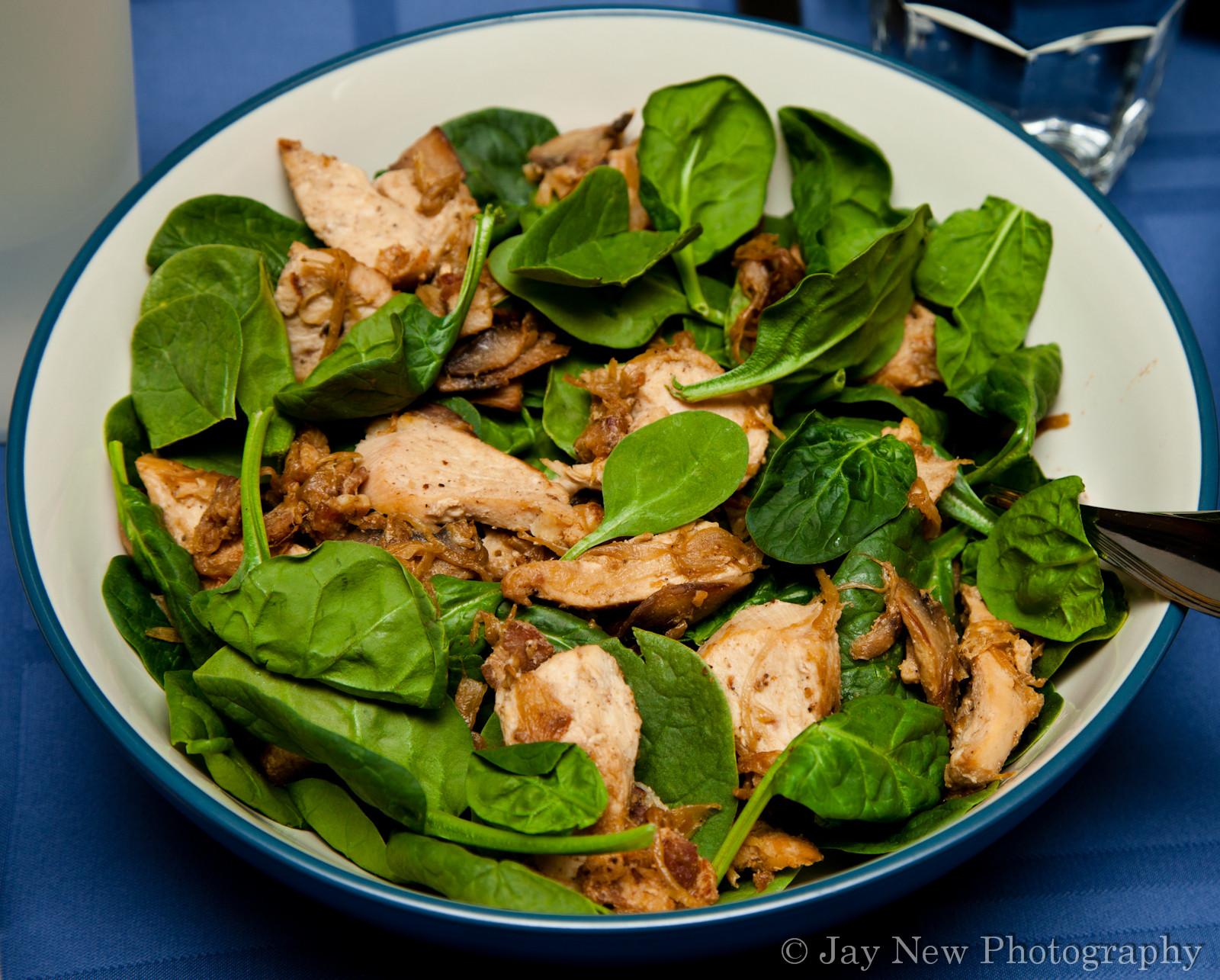 Chicken Spinach Salad  Chicken and Spinach Salad – Gluten Free