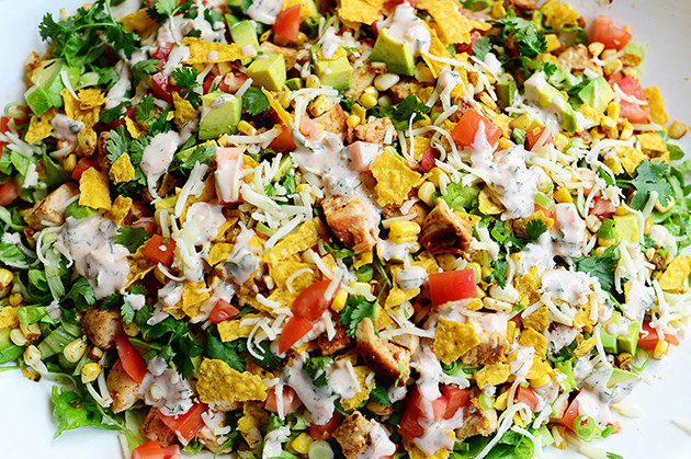 Chicken Taco Salad Recipe  Chicken Taco Salad