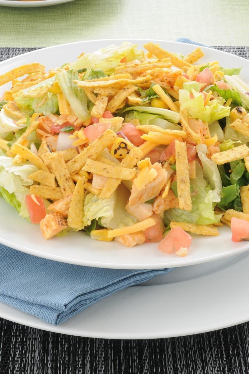 Chicken Taco Salad Recipe  Chicken Taco Salad Weight Watchers