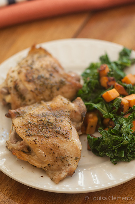 Chicken Thighs Temperature  Perfectly Roasted Chicken Thighs — Living Lou