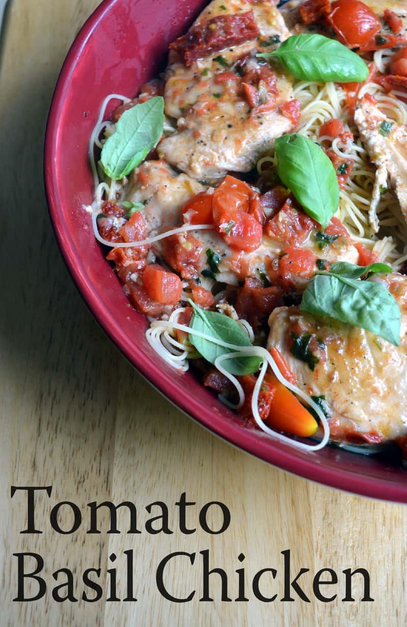 Chicken Tomato Recipe  Tomato Basil Chicken Happily Unprocessed
