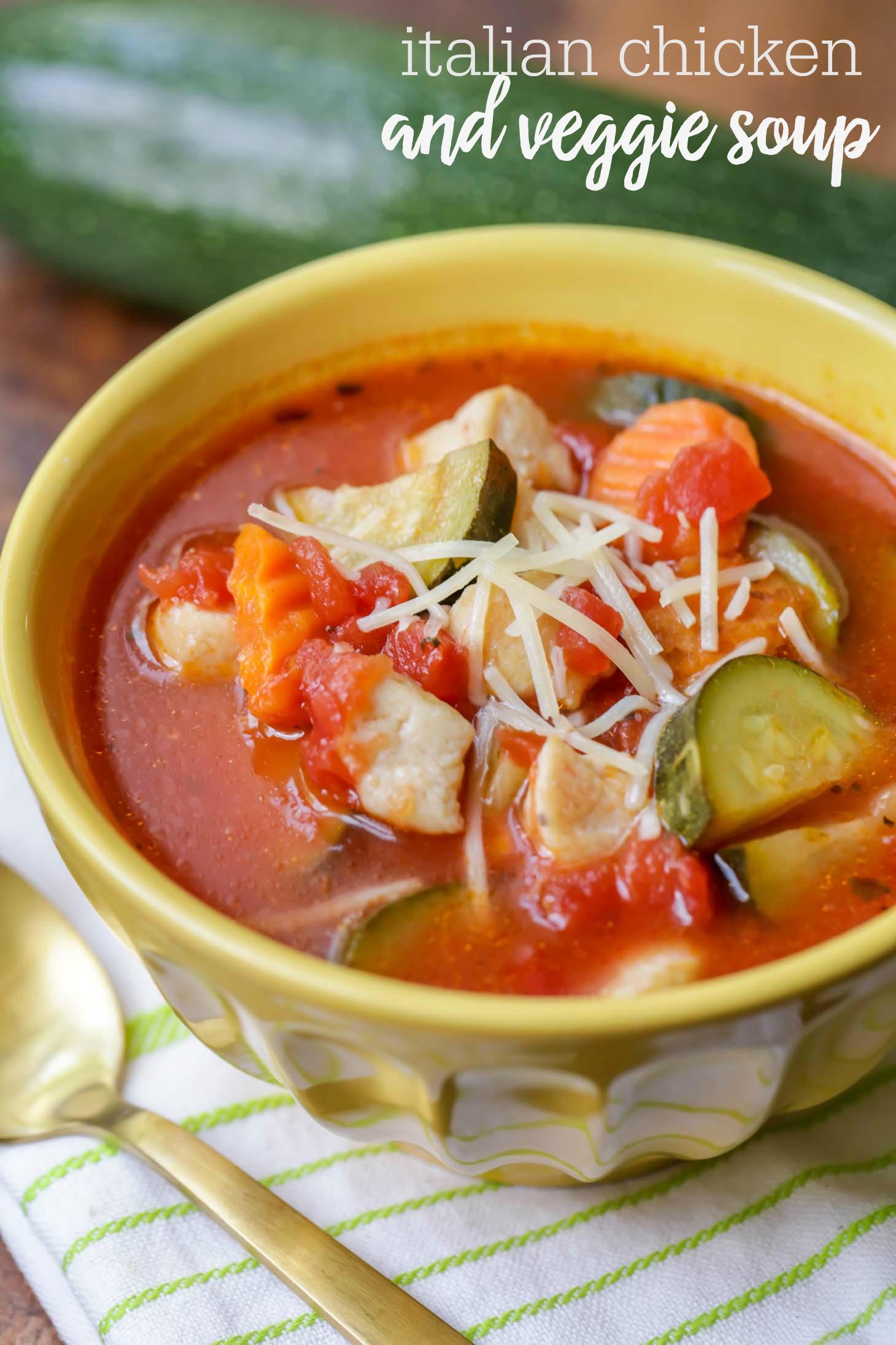 Chicken Tomato Soup  zucchini tomato soup