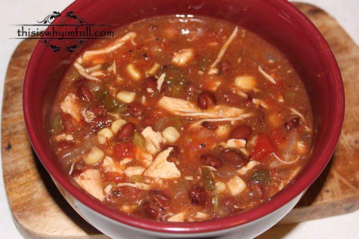 Chicken Tomato Soup  Spicy Chicken Tomato Soup