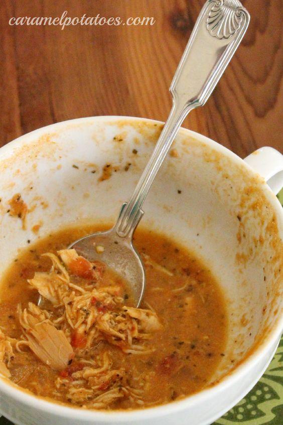 Chicken Tomato Soup  Creamy Italian Chicken Tomato Soup Good to the last Bite