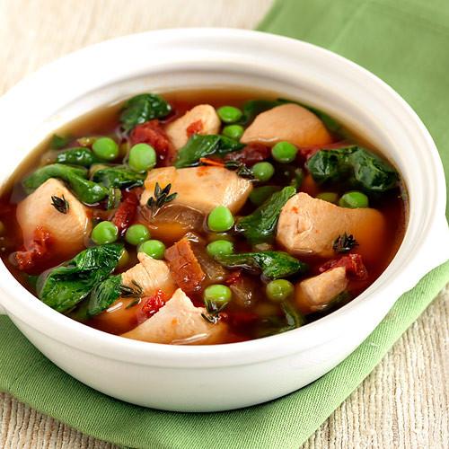 Chicken Tomato Soup  Italian Chicken & Sun Dried Tomato Soup Recipe Clean Eating