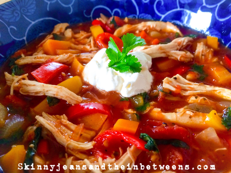 Chicken Tomato Soup  Spicy Mexican Chicken & Tomato Soup