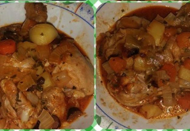 Chicken Vegetable Stew  Chicken Ve able Stew Recipe — Dishmaps