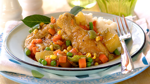 Chicken Vegetable Stew  DELICIOUS OUICK AND EASY