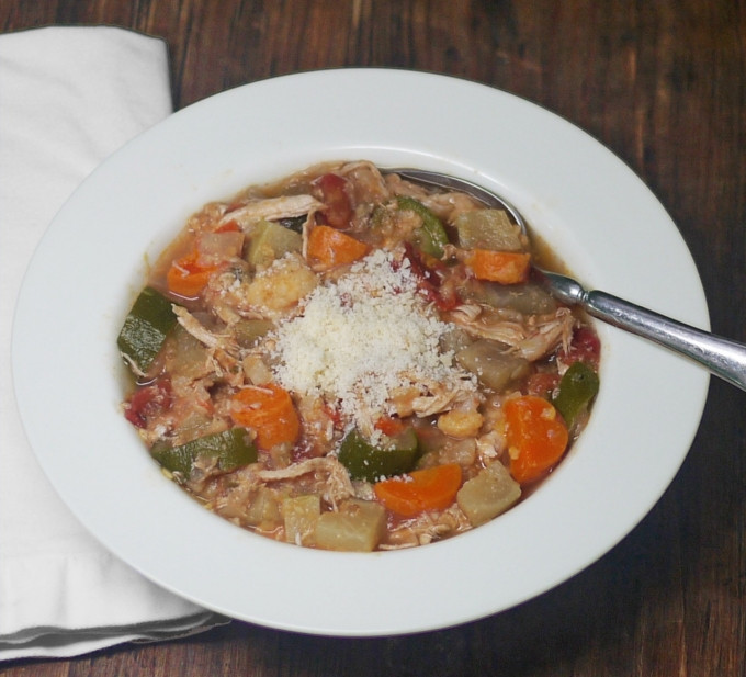 Chicken Vegetable Stew  Easy Italian Chicken Ve able Stew Low Carb Gluten Free