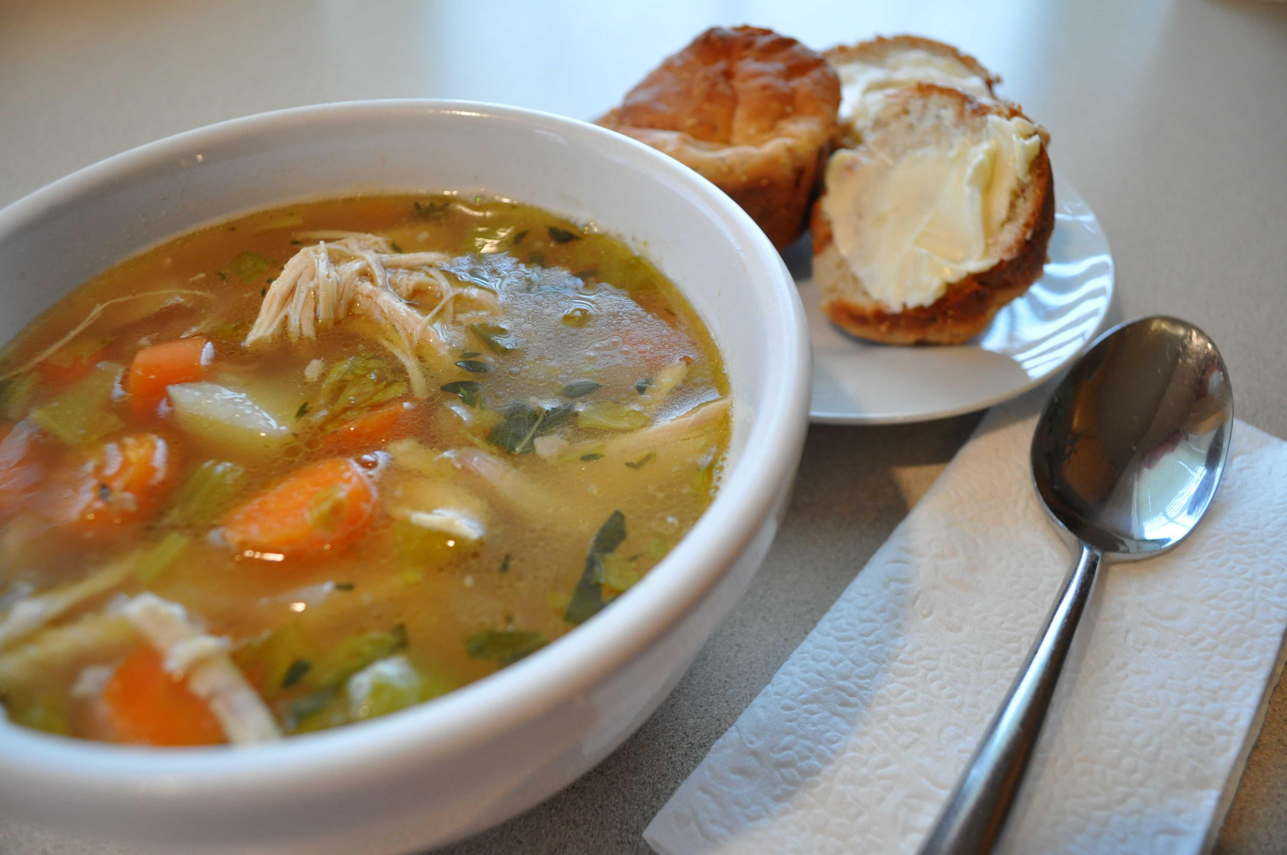 Chicken Veggie Soup  5 Quick Suhoor Recipes For You This Ramadan