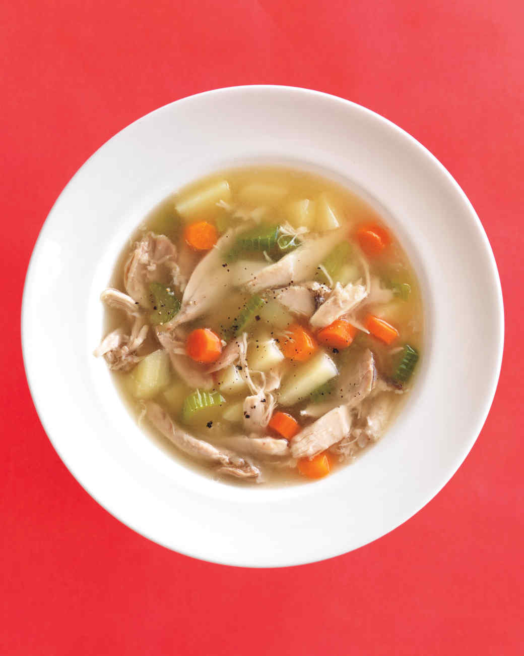 Chicken Veggie Soup  Easy Ve able Soup Recipes That Are Ultra Satisfying