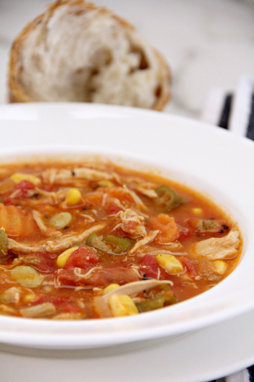Chicken Veggie Soup  Chicken Ve able Soup