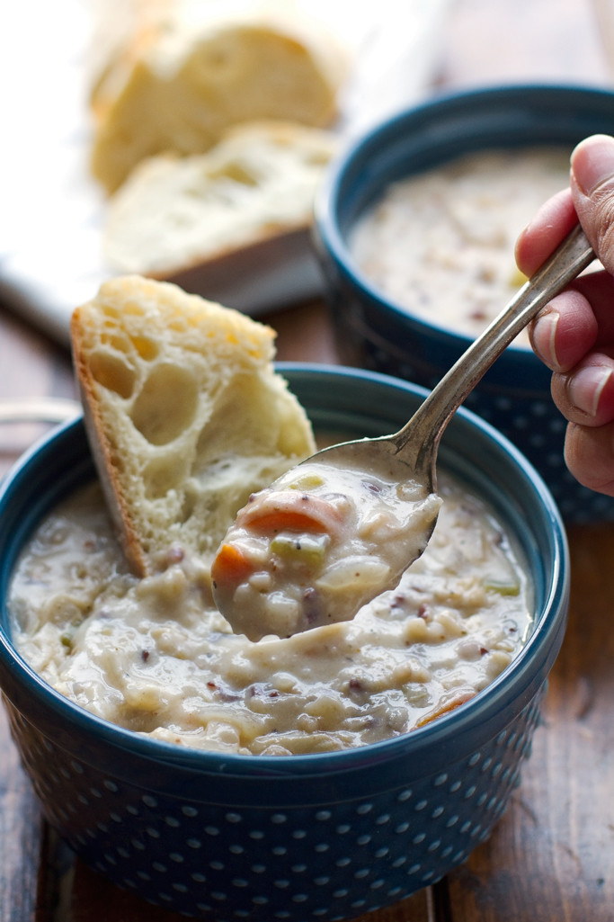 Chicken Wild Rice Soup Recipe  Top Slow Cooker Recipes Creamy Chicken Wild Rice Soup