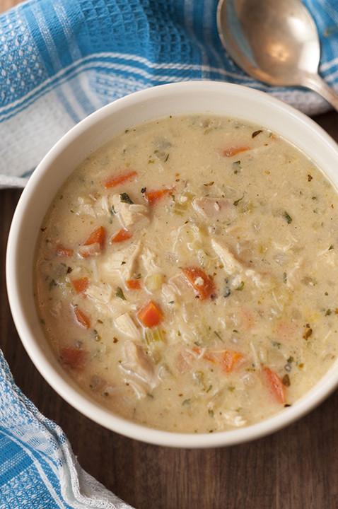 Chicken Wild Rice Soup Recipe  Copycat Panera Chicken & Wild Rice Soup