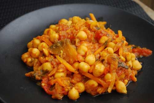 Chickpea Recipes Indian  Indian chickpea masala recipe
