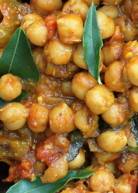 Chickpea Recipes Indian  Scrumpdillyicious Chana Masala A Delicious Indian