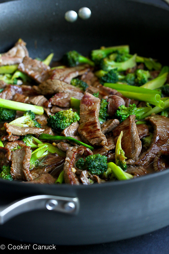 Chinese Beef Recipes  Chinese Beef & Broccoli Stir Fry Recipe Skinnytaste