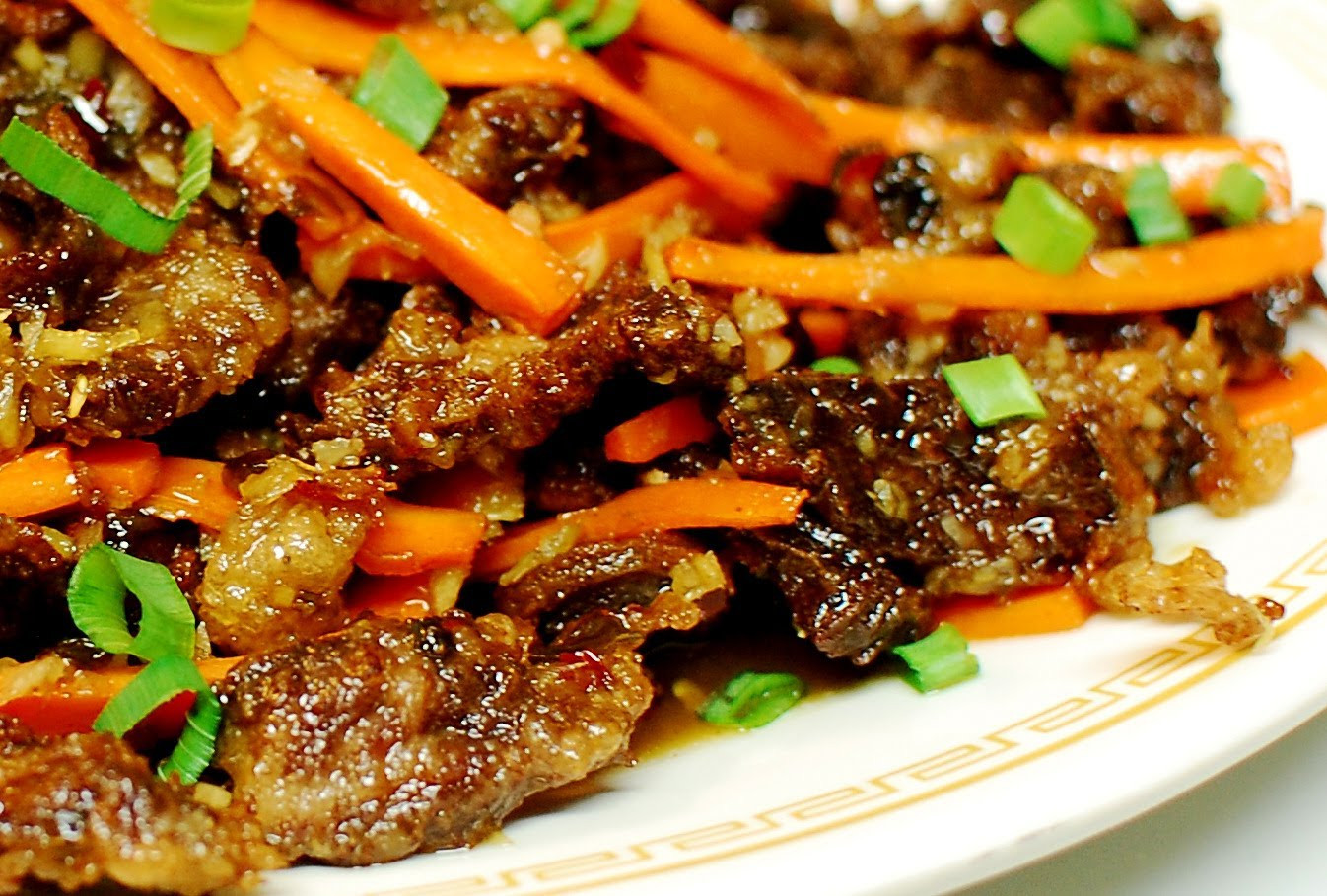 Chinese Beef Recipes  chinese beef with garlic sauce recipe