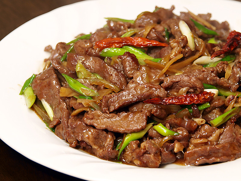 Chinese Beef Recipes  Beef and Ginger Stir Fry Ang Sarap