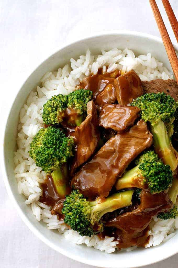 Chinese Beef Recipes  Chinese Beef and Broccoli Extra Saucy Takeout Style