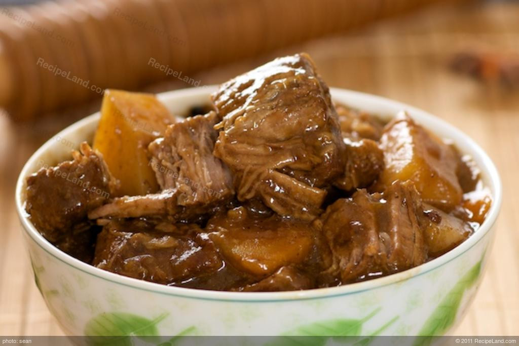 Chinese Beef Recipes  Chinese Beef Stew Recipe