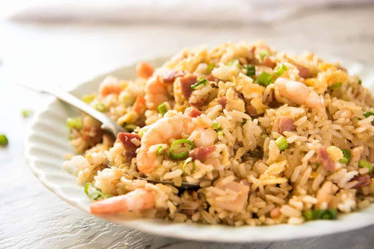 Chinese Fried Rice  Chinese Fried Rice with Shrimp Prawns