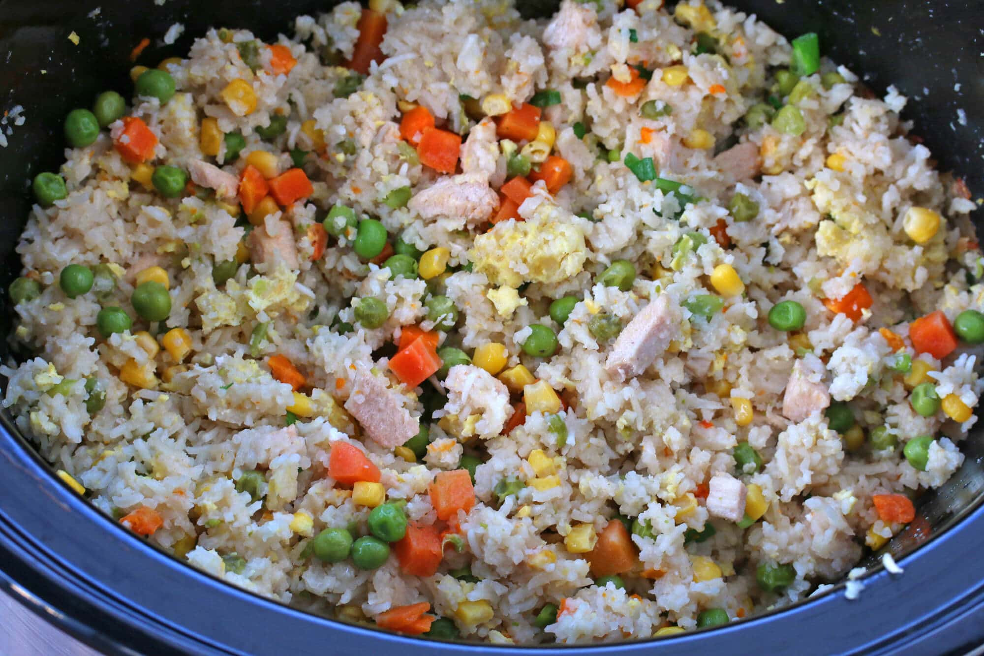 Chinese Fried Rice  Slow Cooker Chinese Fried Rice The Daring Gourmet