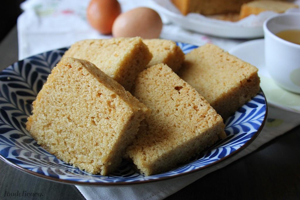 Chinese Sponge Cake  Steamed Sponge Cake Ma Lai Gao 馬拉糕