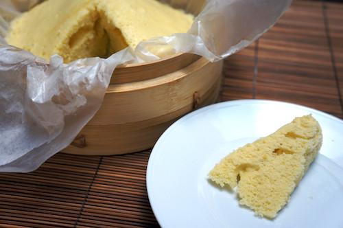 Chinese Sponge Cake  Chinese steamed sponge cake ji dan gao