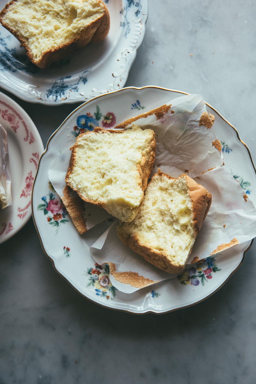 Chinese Sponge Cake  Chinese Paper Wrapped Sponge Cake — O&O Eats