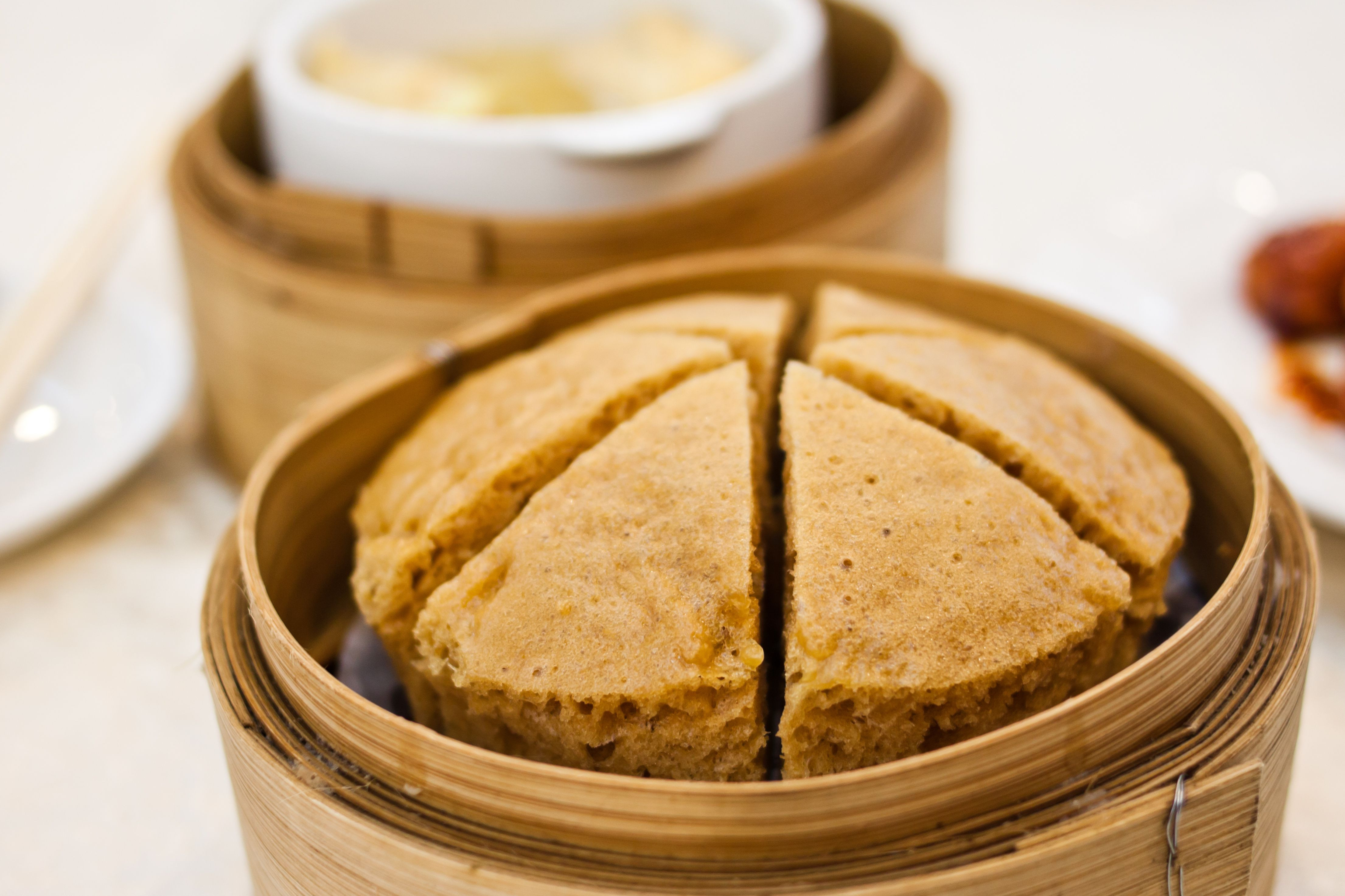Chinese Sponge Cake  Steamed Chinese Sponge Cake Recipe