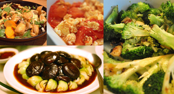 Chinese Vegetarian Recipes  chinese ve arian recipes easy