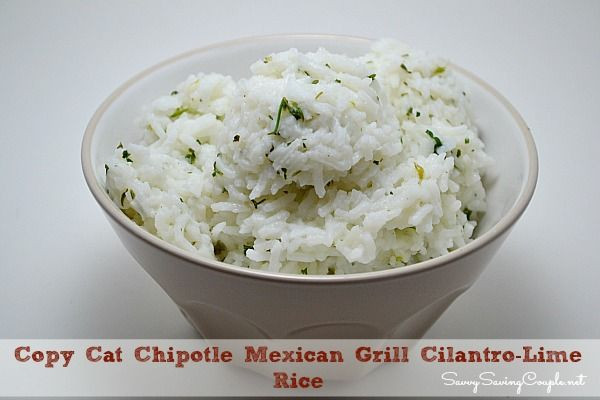 Chipotle Mexican Grill White Rice  1000 images about CHIPOTLE on Pinterest