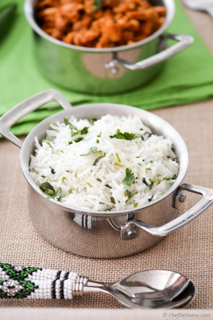 Chipotle Mexican Grill White Rice  Easy Cilantro Lime Rice Recipe