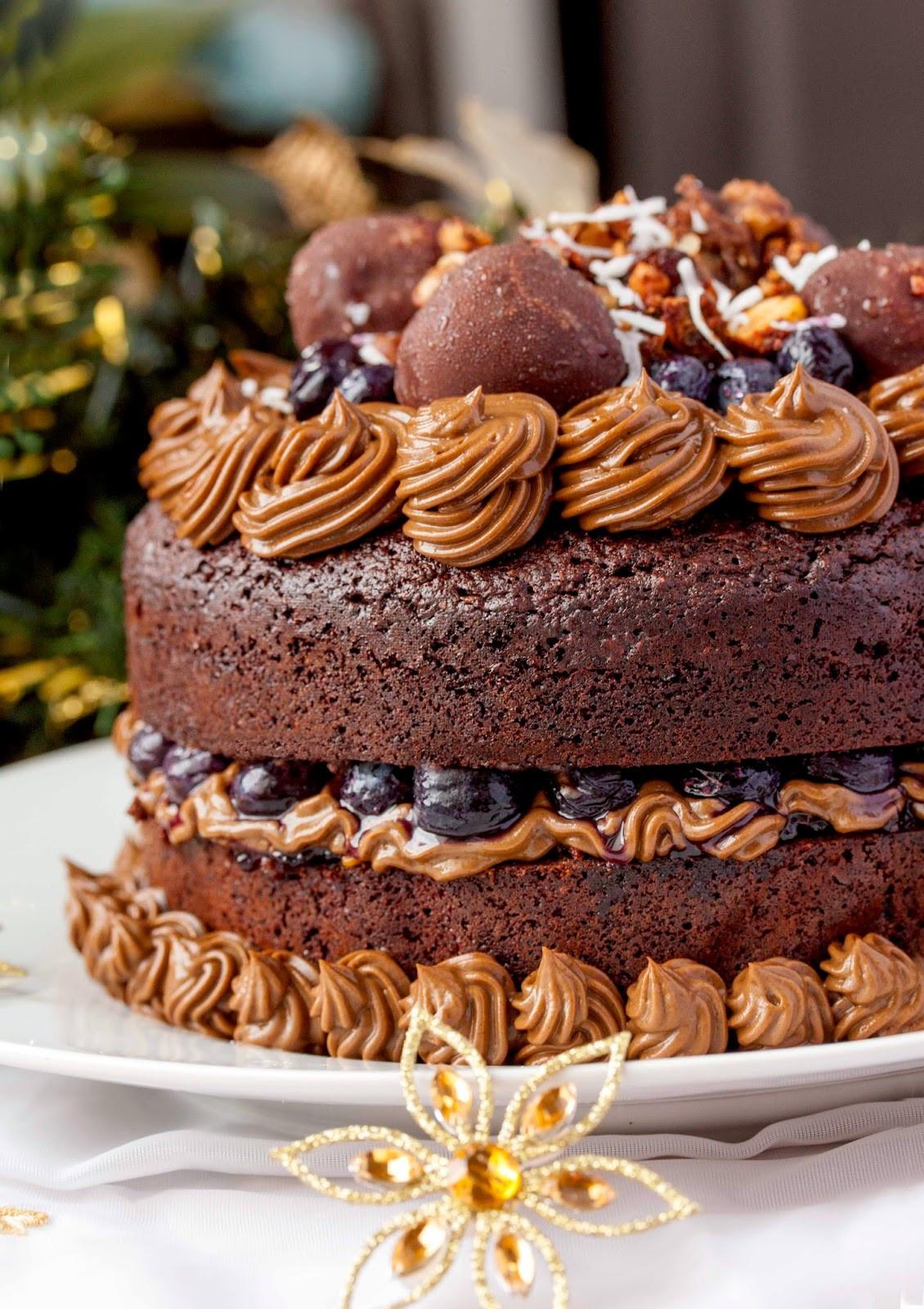 Chocolate Brownies Cake  Chocolate Brownie Layered Birthday Cake another epic