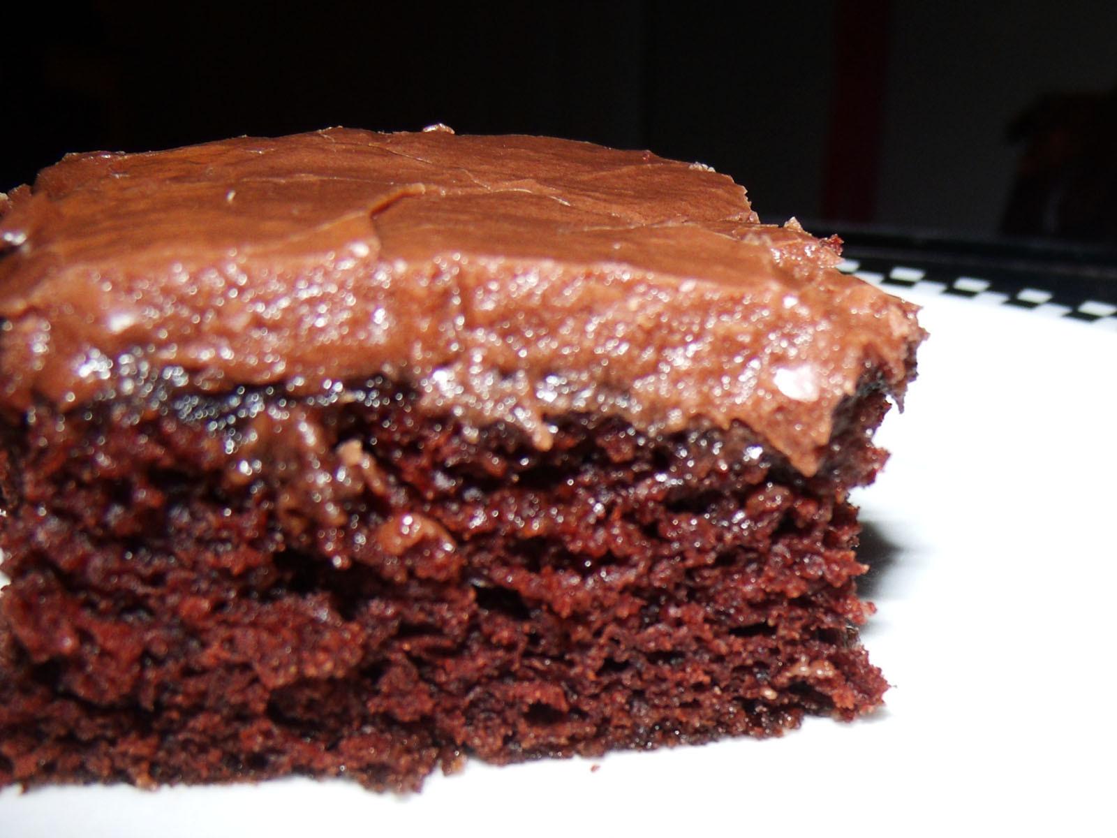Chocolate Brownies Cake  Brownie Cake with Chocolate Frosting