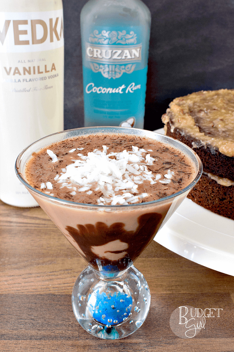 Chocolate Cake (Cocktail)  German Chocolate Cake Dessert Martini Tastefully Eclectic