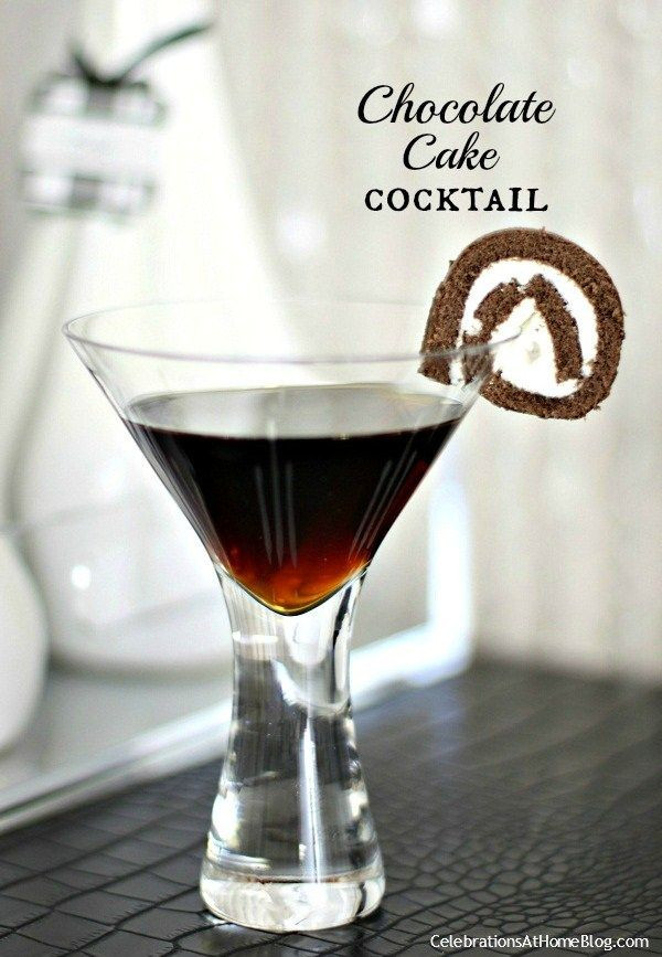 Chocolate Cake (Cocktail)  17 Best images about Happy New Year on Pinterest