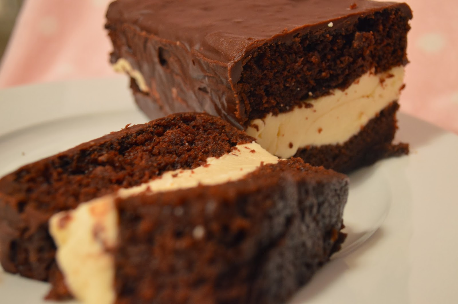 Chocolate Cake Filling  Cooking isn't Rocket science Ice Cream filled Chocolate