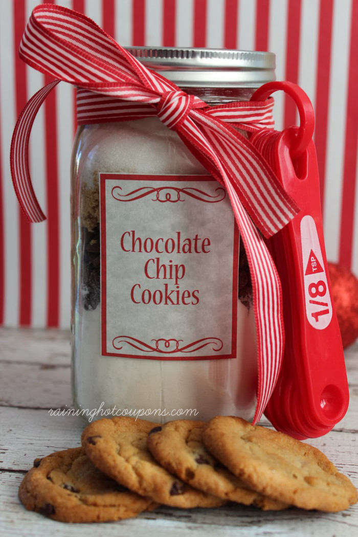 Chocolate Chip Cookies In A Jar  Chocolate Chip Cookie Mix in a Jar Recipe & FREE Printable