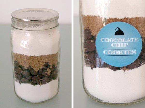 Chocolate Chip Cookies In A Jar  Bump Smitten DIY Tutorial Bump Smitten Mason Jar Cookies
